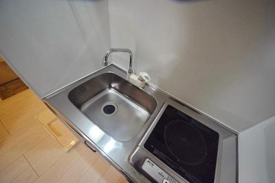 キッチンでお料理をお楽しみください ※写真は別部屋のイメージ用写真です。