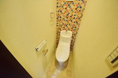 シンプルで使いやすいトイレです ※写真は別部屋のイメージ用写真です。