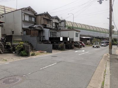 【前面道路含む現地写真】京都市山科区大宅中小路町