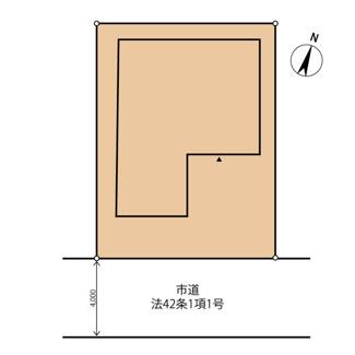 【区画図】吉川市吉川1丁目 中古戸建