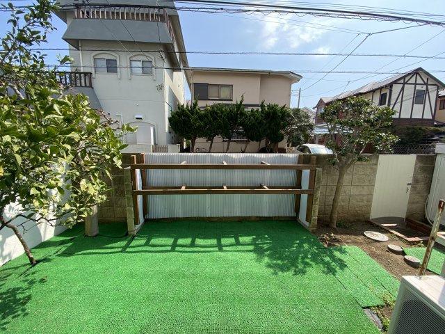【庭】近鉄ハイツ大磯
