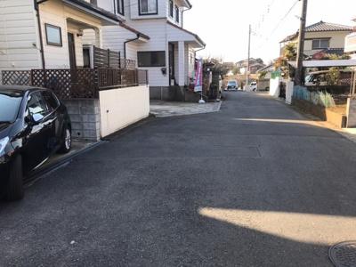 【前面道路含む現地写真】取手市駒場 中古戸建