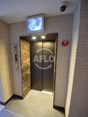 パークアクシス大阪新町 エレベーター