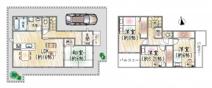 ★残り4区画!設備充実♪~仁川駅徒歩8分♪~鹿塩2丁目新築戸建♪の画像