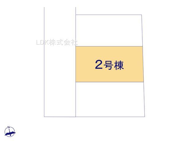 【区画図】新築戸建/富士見市鶴瀬西2丁目(全3棟)