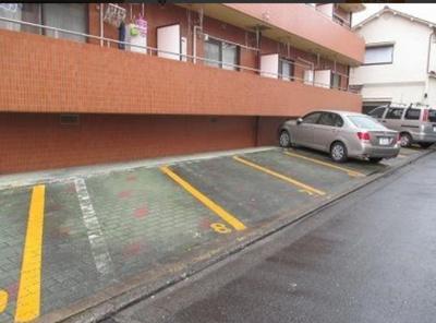 【駐車場】セゾンベルローズ