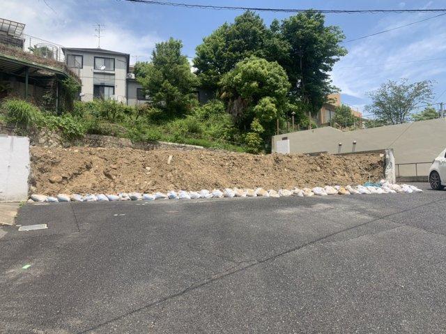 【前面道路含む現地写真】東芦屋町Ⅳ 売土地