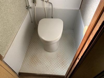【トイレ】S様関戸3丁目平屋アパート