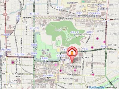 【地図】ヴァレーレ県庁前
