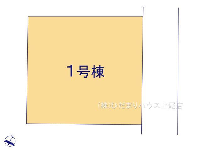 【区画図】西区指扇 新築一戸建て 01