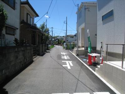 前面道路含む現地写真です 2.3南前面道路