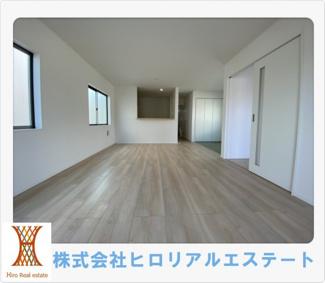 【居間・リビング】神戸市西区竜が岡5丁目新築戸建