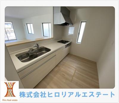 【キッチン】神戸市西区竜が岡5丁目新築戸建