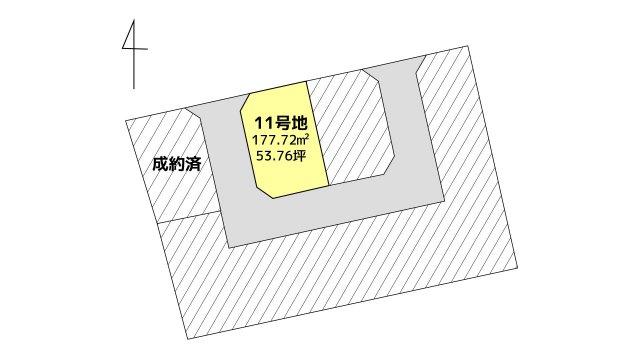 【区画図】佐賀市巨勢 11号地
