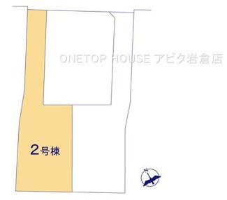 【区画図】北名古屋市熊之庄屋形 2号棟
