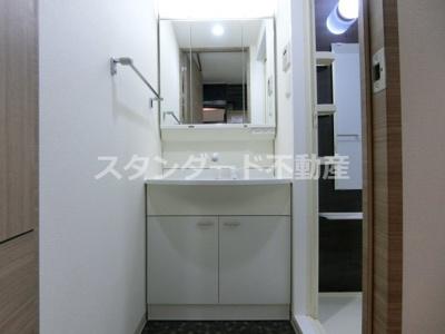【洗面所】アクアプレイス東天満Ⅱ