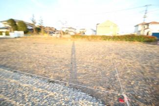 【外観】川越市上寺山 建築条件なし売地  敷地57坪 【山田小学区】