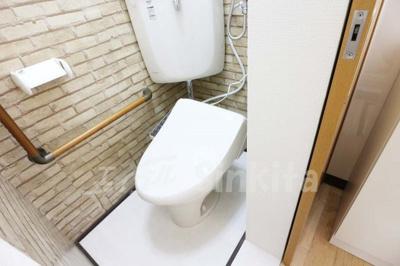 【トイレ】グリーンハイツ東三国