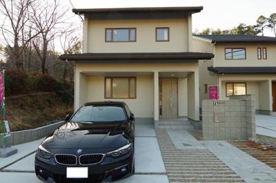 【外観】静市市原町 新築戸建1号地 オール電化・耐震住宅