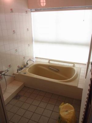 【浴室】徳久貸家