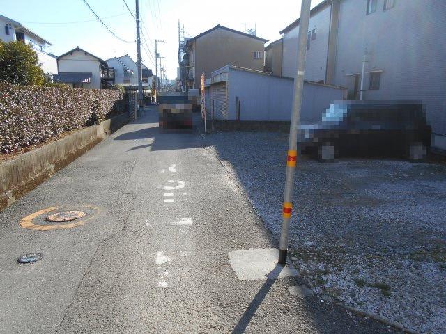 【前面道路含む現地写真】高知市弥生町 売り土地