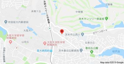 【地図】グランドール山口