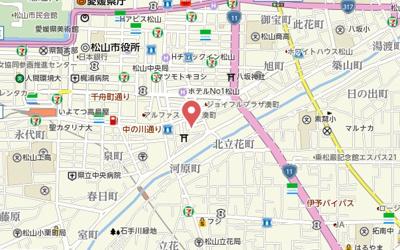 【地図】サンセット湊町・