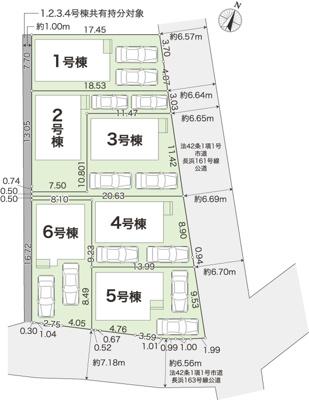 【外観】長浜6棟3 4LDK