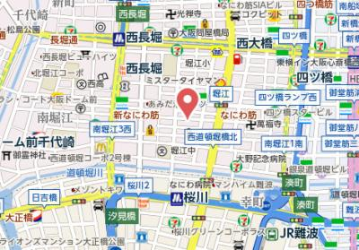 【地図】パインハイツ