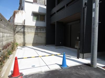 【駐車場】池田市緑丘2丁目 新築戸建 4号地