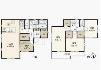 3000万円、3LDK、土地面積162.11㎡、建物面積107.85㎡