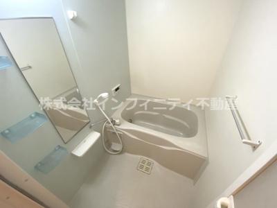 清潔感あるバスルーム