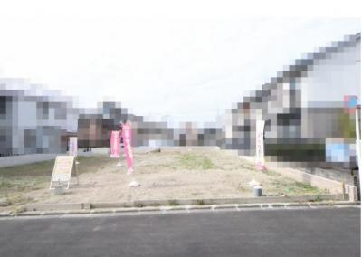 【外観】北白川西平井町 売土地 D号地 建築条件なし