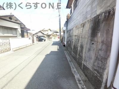【前面道路含む現地写真】姫路市御立東2丁目/売土地