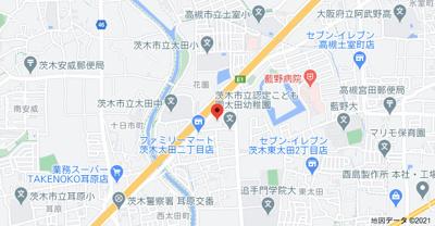 【地図】清水マンション