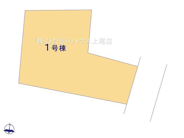 【区画図】北本市本町2丁目 新築一戸建て ブルーミングガーデン 01