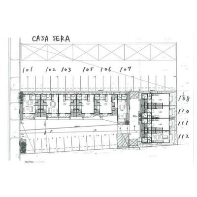 【地図】CASA SERA
