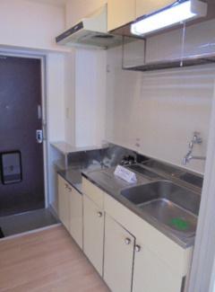 【キッチン】《RC造17.01%!高稼働!》小樽市長橋3丁目一棟マンション
