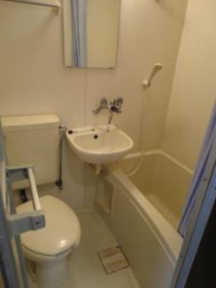 【浴室】秦野市名古木一棟アパート