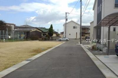 【外観】クレイドルガーデン浅口市金光町占見新田第4 1号棟