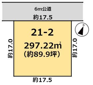 【区画図】富士見ヶ丘3丁目21番