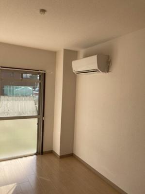 エアコンもしっかり完備されています。