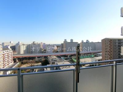 【展望】東京インターマークス 8階 76.11㎡ リ フォーム 2005年築