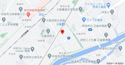 【地図】マルベリーハイツ