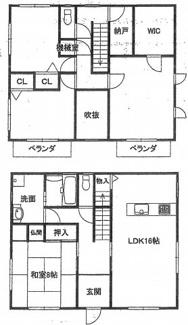 千葉市中央区都町 中古一戸建て 千葉駅 4LDK+納戸と大きなお家となっております。