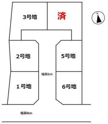 【区画図】たつの市龍野町宮脇Ⅲ