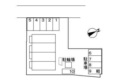 【区画図】パルテール・アイⅡ