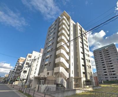 【現地写真】鉄筋コンクリート造11階建て♪ 総戸数28戸♪
