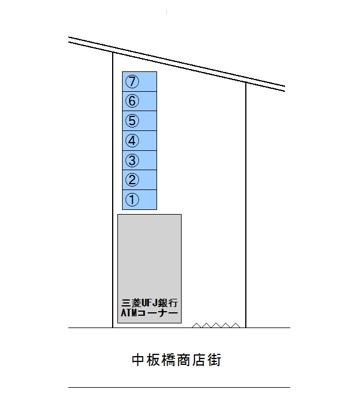 【区画図】斉藤駐車場