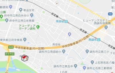 【地図】レオパレスステラ(48300-203)
